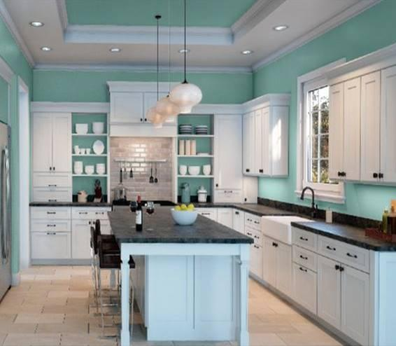 teal colored kitchens top aqua paint colors spectrum painting 2681